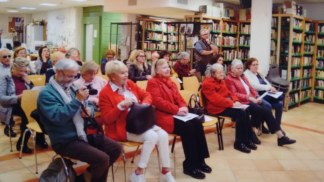 """Presentazione del libro """"Semplicemente donne"""" alla Biblioteca Angela Zucconi di Anguillara Sabazia"""